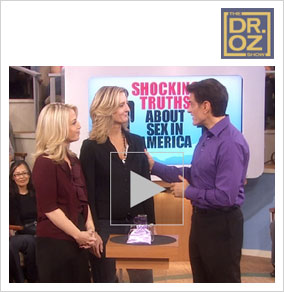 Dr Oz promotes the We Vibe