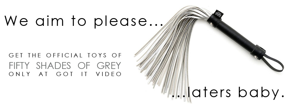 Official 50 Shades of Grey Toys